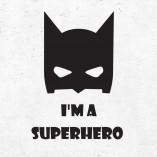Nalepka Superhero