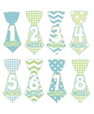 Mesečne nalepke - kravate