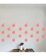 Jabolka- enobarvni