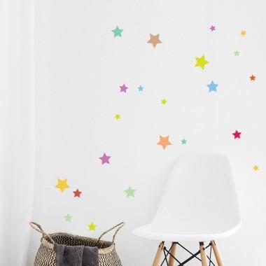 Zvezdice - večbarvne