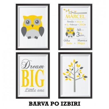 Komplet - Sovica in Dream big